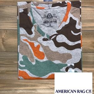 Spaced Out Camouflage American Rag Tee